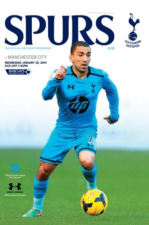 spurs man city programme 300x452 Premier League Wednesday, Gameweek 23: Open Thread