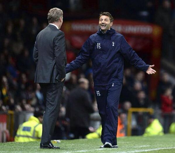 tim sherwood Tottenham Manager Tim Sherwoods Tactical Changes Outwit David Moyes