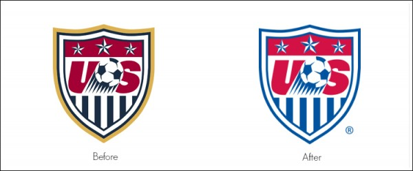 us soccer crest 600x249 US Soccer Updates Its Crest In Time For World Cup 2014 [PHOTO]