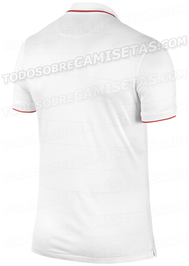 usmnt world cup shirt home back USMNT World Cup Shirt From Nike: Leaked [PHOTOS]
