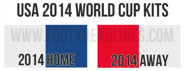 usmnt world cup shirts color palette 600x230 New Details Released About USMNT Home and Away Shirts For World Cup 2014