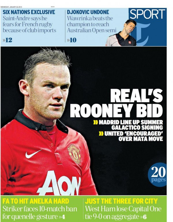 Wayne Rooney Real Madrid wayne rooney real madrid x Real Madrid Prepare Summer Bid For