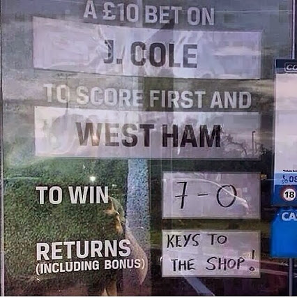 west ham bookies West Ham United vs Manchester City, Capital One Cup Semi Final 2nd Leg: Open Thread