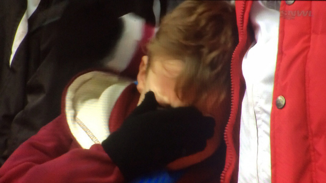west ham fan WATCH Boy Cries As Nottingham Forest Thrash West Ham In FA Cup [VIDEO]