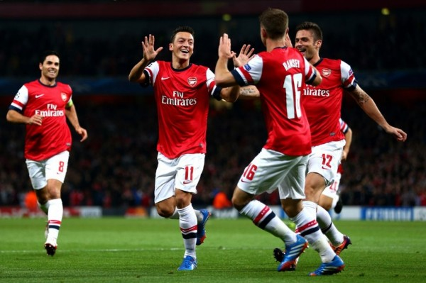 Arsenal 600x399 UEFA Champions League Team By Team Guide: Preview, Likely Lineups, Key Players and Predictions