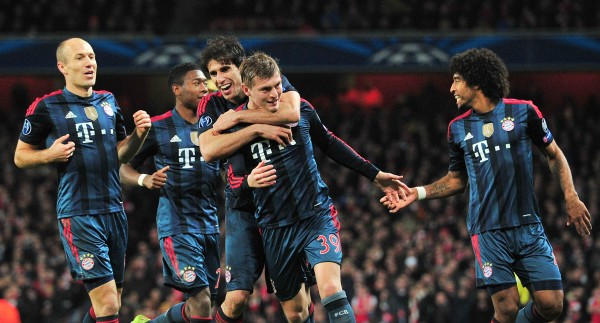 Bayern ars 600x323 UEFA Champions League: What We've Learnt From the Opening Round Of 16 Games