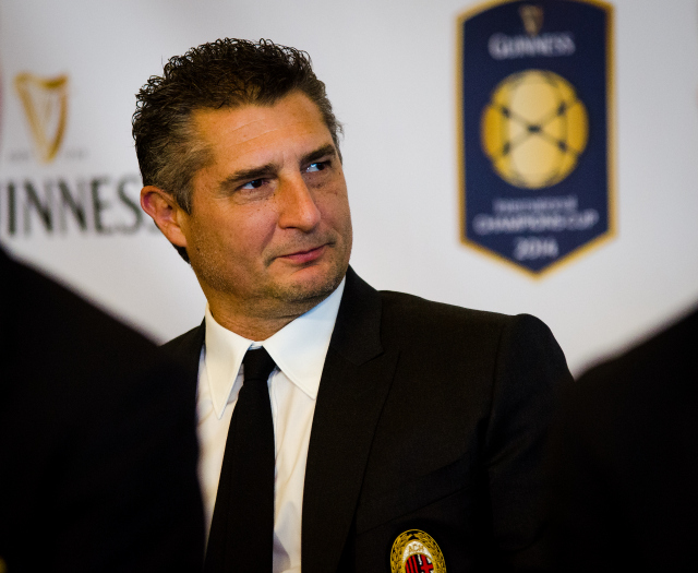 Daniele Massaro 2014 International Champions Cup Press Conference [PHOTOS]