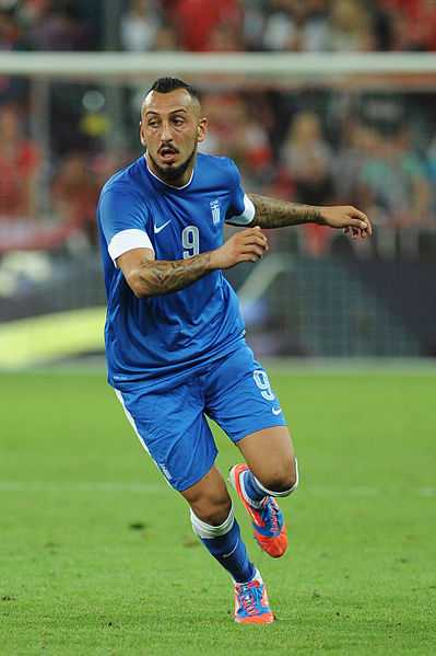 Kostas Mitroglou What to Expect From Fulhams Kostas Mitroglou, Greeces Star Striker