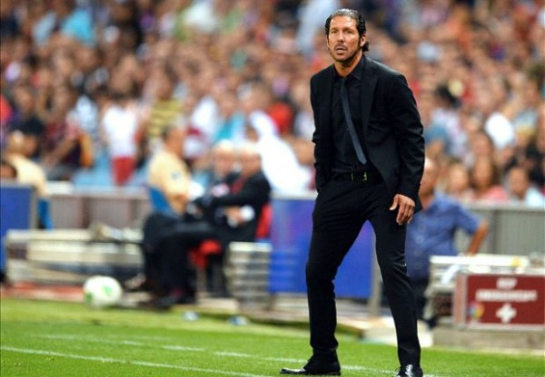Simeone black 600x416 Diego Simeones Philosophy Has Led Atletico Madrid To The Top Of La Liga