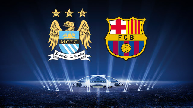 barcelona manchester city 5 Reasons Why Barcelona Will Overcome Manchester City in the UEFA Champions League