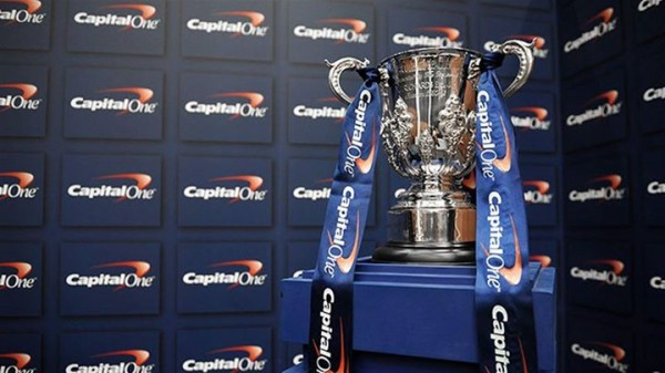 capital one cup trophy 600x337 Watch the Capital One Cup Final Live on beIN SPORTS And DishWorld This Sunday: Manchester City vs Sunderland