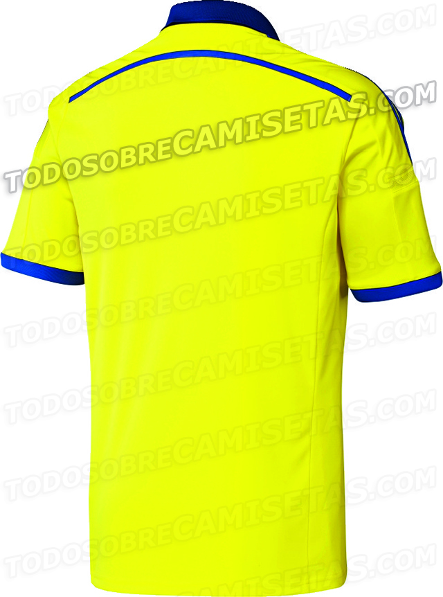 chelsea away shirt back Chelsea Away Shirt For 2014/15 Season Revealed: Leaked [PHOTO]