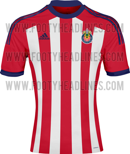 chivas usa home shirt MLS Jerseys For 2014 Season Revealed For All 19 Teams: Leaked [PHOTOS]
