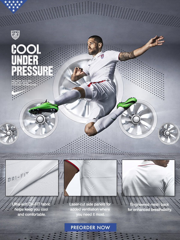 clint dempsey usmnt world cup Clint Dempsey Pictured Wearing New USMNT World Cup Kit: Leaked [PHOTO]