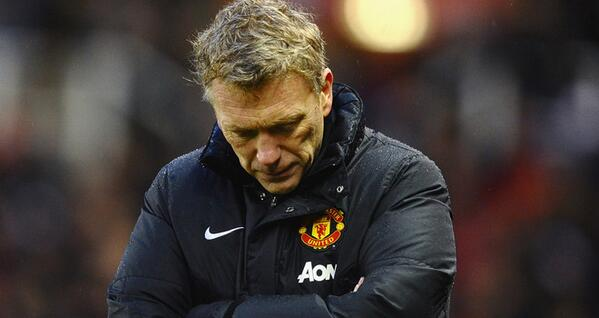 david moyes WATCH Manchester United 2 2 Fulham Match Highlights [VIDEO]