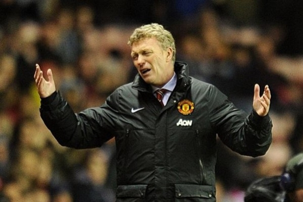 david moyes1 3 Manchester United Footballers Who Are Dragging David Moyes Down