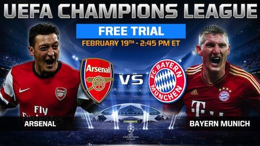 email Arsenal Bayern 021914 Start Your 7 Day Free Trial to FOX Soccer 2GO