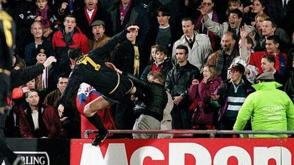 Man United's Eric Cantona Kung-Fu Kicks a Fan: This Week in Football History