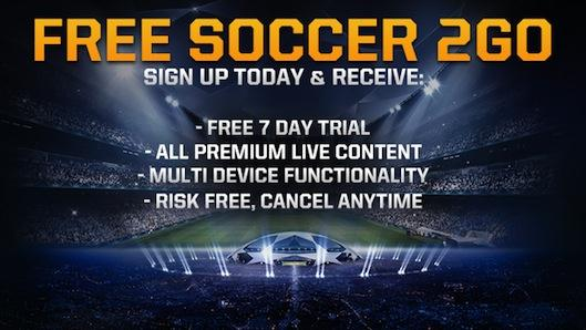 generic fs2go Start Your 7 Day Free Trial to FOX Soccer 2GO