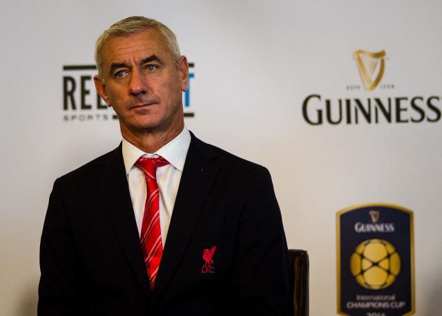 ian rush 2014 International Champions Cup Press Conference [PHOTOS]