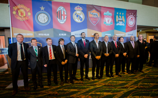 icc ambassadors 2014 International Champions Cup Press Conference [PHOTOS]