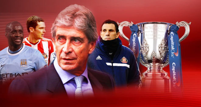 league cup manchester city sunderland Manchester City vs Sunderland, Capital One Cup Final Preview