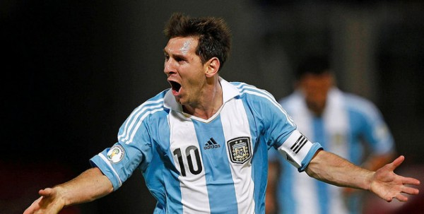 leo messi1 600x303 Argentina 2 1 Bosnia: Messi Wonder Goal Seals Victory and Match Highlights (VIDEO)