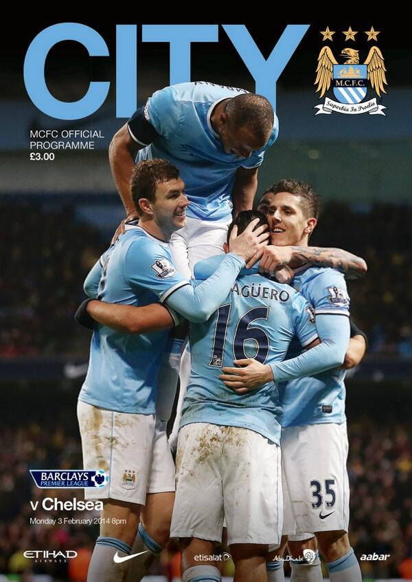 man city chelsea programme Manchester City vs Chelsea, Premier League Gameweek 24: Open Thread