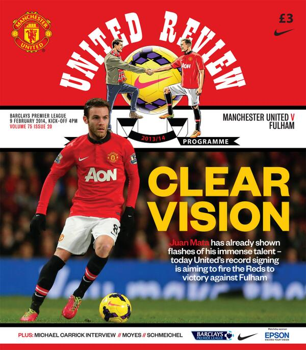 man united fulham programme Premier League Sunday, Gameweek 25: Open Thread