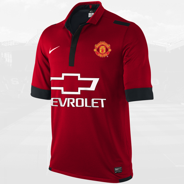 manchester united 2014 15 home shirt 600x600 Is This Manchester Uniteds Home Shirt for the 2014/15 Season? [PHOTO]