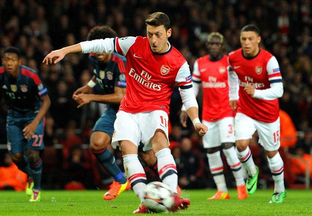 mesut ozil Mesut Ozil Could Be Like Dennis Bergkamp And Never Take a Penalty Again, Says Arsene Wenger: Daily Soccer Report