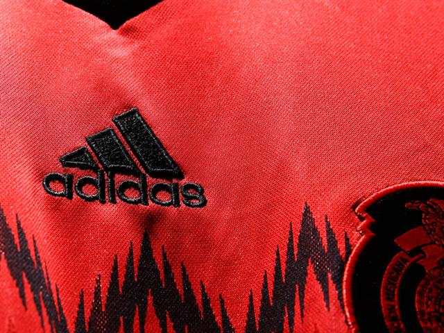 mexico away shirt adidas logo Mexico Away Shirt For 2014 FIFA World Cup Goes Red And Black: Official [PHOTOS]