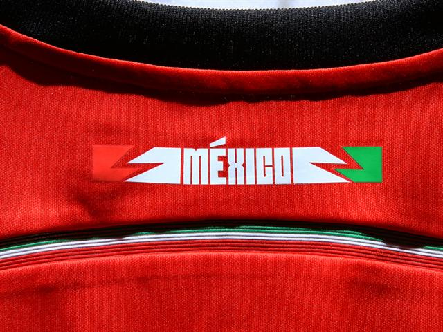 mexico away shirt back top Mexico Away Shirt For 2014 FIFA World Cup Goes Red And Black: Official [PHOTOS]