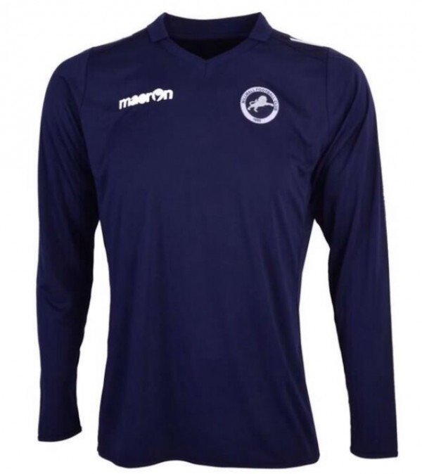 millwall 2014 home shirt 600x674 Millwall Release Their Home Shirt Design For 2014, Chosen By Fans [PHOTO]