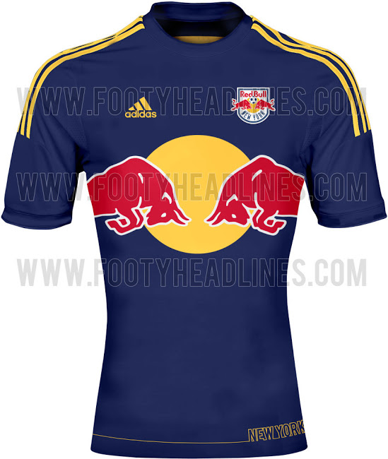 new york red bulls away shirt MLS Jerseys For 2014 Season Revealed For All 19 Teams: Leaked [PHOTOS]