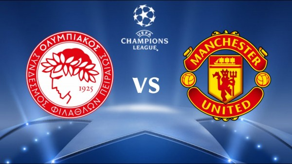 olympiakos manchester united 600x337 Olympiacos vs Manchester United, UEFA Champions League 1st Leg: Open Thread