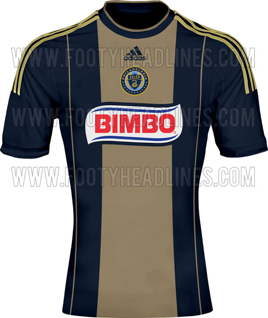 philadelphia union home shirt1 MLS Jerseys For 2014 Season Revealed For All 19 Teams: Leaked [PHOTOS]