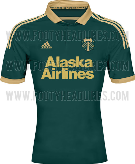 portland timbers third shirt MLS Jerseys For 2014 Season Revealed For All 19 Teams: Leaked [PHOTOS]