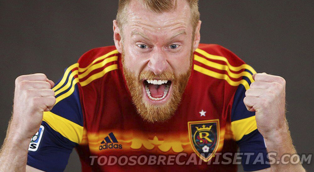 real salt lake home shirt Real Salt Lake Home Shirt For 2014 MLS Season. Beard Not Included: Leaked [PHOTO]