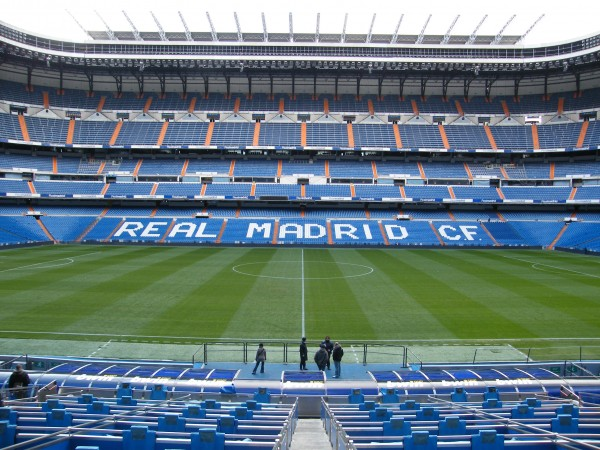 santiago bernabeu 600x450 See Real Madrid Barcelona and/or Man United Man City In Person Before Tickets Sell Out