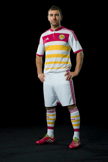 scotland away shirt full Scotland Away Shirt For 2014 15 Is Colorful And Historic: Official [PHOTOS]