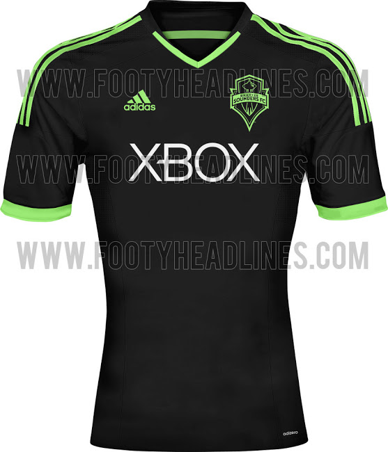 seattle sounders third shirt MLS Jerseys For 2014 Season Revealed For All 19 Teams: Leaked [PHOTOS]
