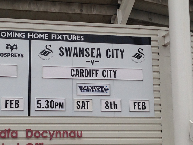 swansea cardiff NBC Scores Record Overnight Rating of 2013/14 Premier League Season Thus Far