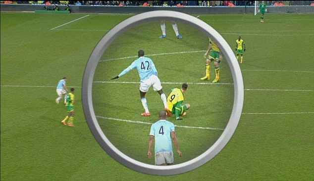 toure stamp Reviewing Premier League Referee Decisions: Gameweek 25