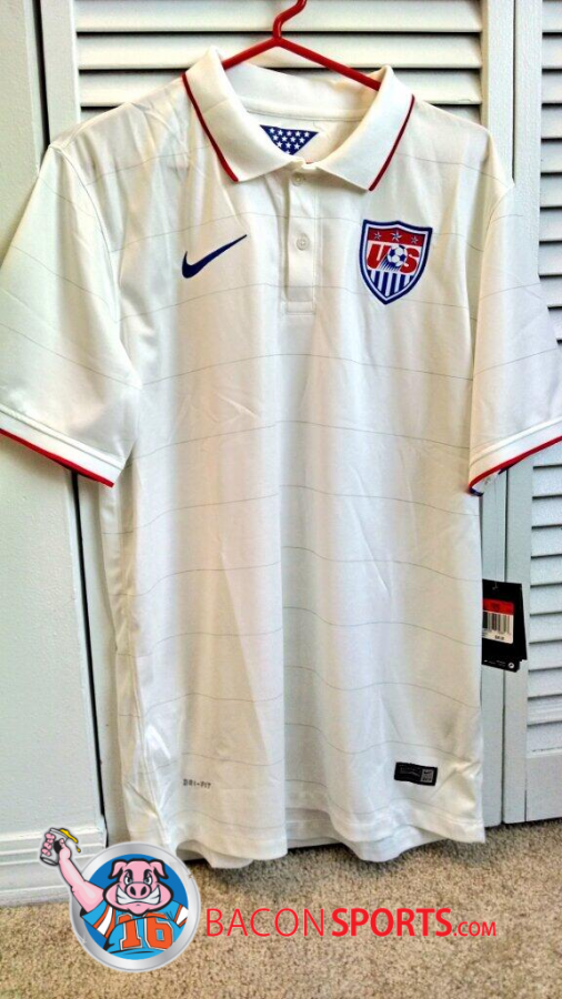 usmnt world cup home shirt 506x900 USMNT Home Shirt For FIFA World Cup 2014 From Nike: New Leaked [PHOTO]