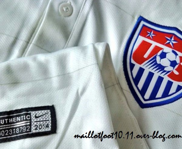 US Mens National Team Home Shirt For World Cup 2014: New Closeups [PHOTOS]