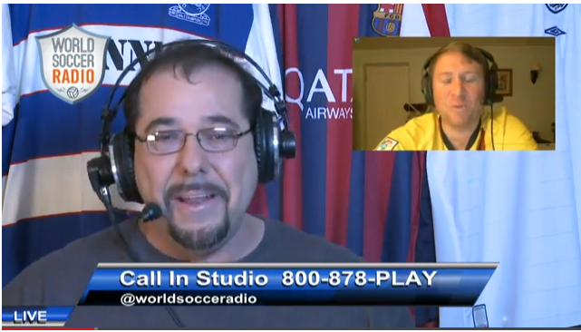 wsr2 WATCH World Soccer Radio, On Replay; Tonights Topics: (1) Arsenal vs Man Utd (2) Liverpools Resurgence
