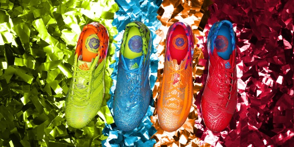 Carnaval Pack Shoot 01 Group PR Album 01 600x300 adidas Launches Carnaval Pack: A Colorful And Beautiful New Soccer Boot Collection [PHOTOS]