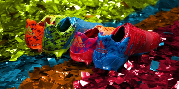 Carnaval Pack Shoot 01 Group PR Album 04 600x300 adidas Launches Carnaval Pack: A Colorful And Beautiful New Soccer Boot Collection [PHOTOS]