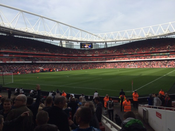 Emirates View e1394568335325 600x450 Experiencing The FA Cup Quarterfinal In Person: The Heart Of English Football